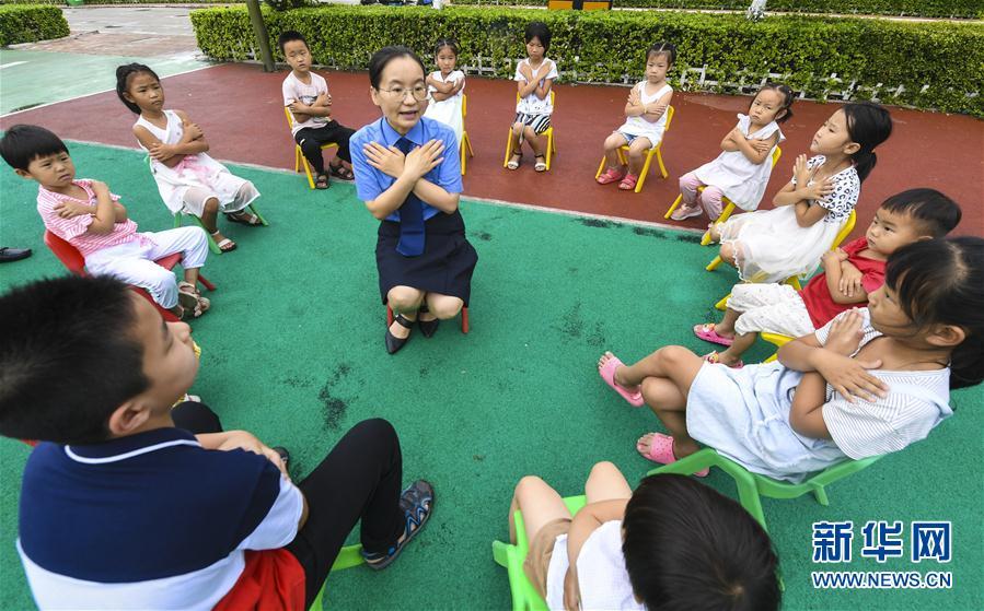 河北阜城:牵手留守儿童 呵护健康成长