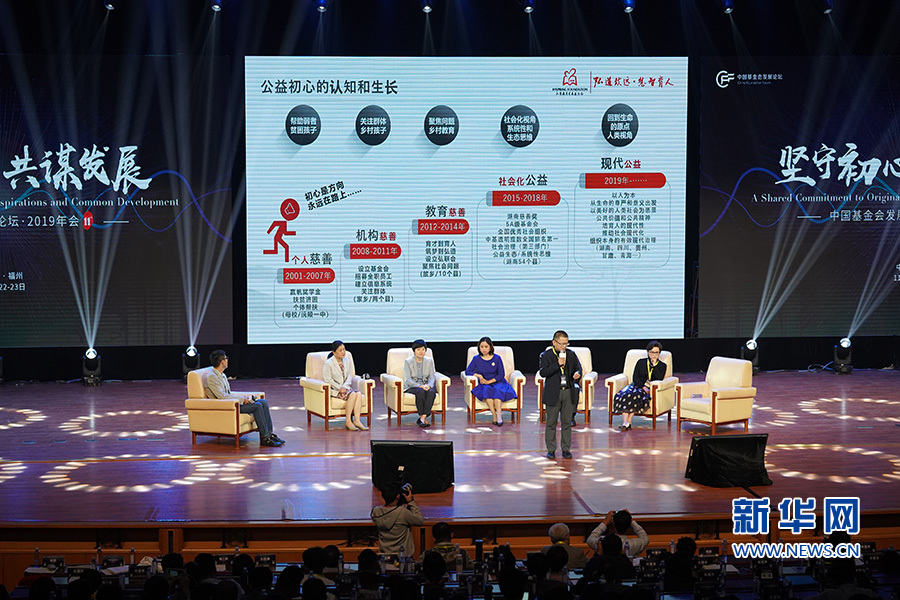 中国基金会发展论坛年会首次落地福建