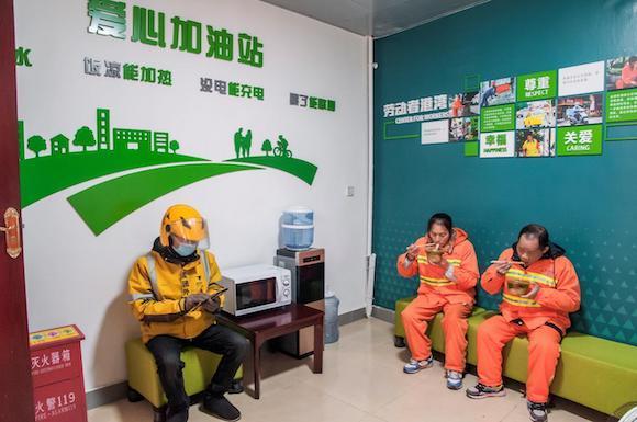 """""""小港湾""""体现""""大文明"""" 重庆建成665座""""劳动者港湾"""""""
